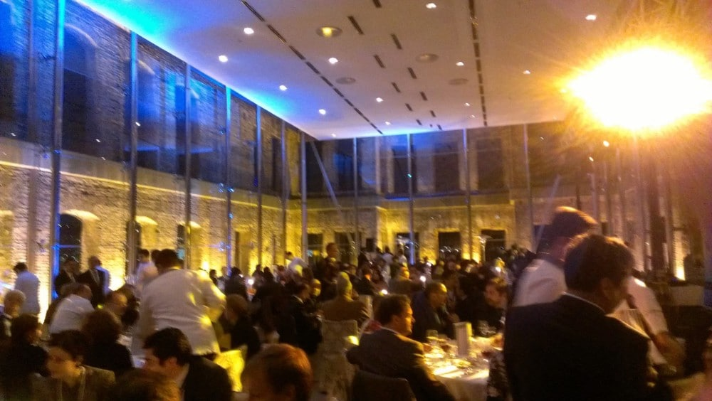 International investor's dinner, Istanbul.