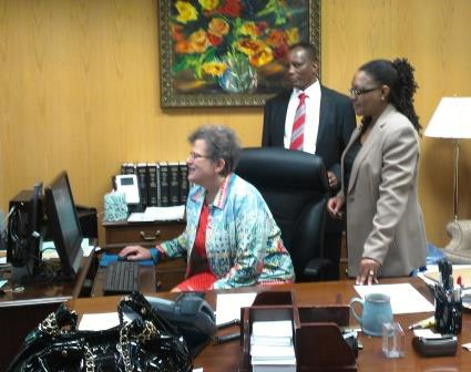 DC Judge with TZ High Court Judges